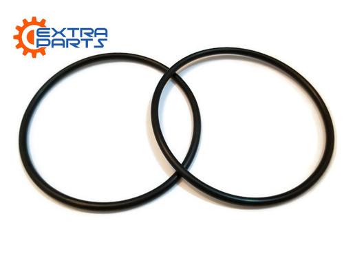 2 x Main Drive Belt for Intermec EasyCoder 3400E 3440 3240 Thermal Label Printers Black