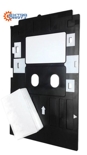 20 PVC ID card + Epson Inkjet PVC  card tray L800 L801 L805 L810 R270 R280 artisan 50