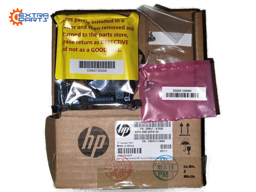 CR647-67030 CR647-67021 T790 T795 T1300 SATA HDD w/ FW NEW GENUINE SEALED BOX FROM HP
