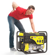 Save your Back! Wheel your Generator.
