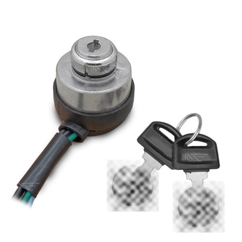 ignition switch (2 keys) 11021