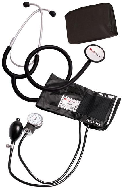 Blood Pressure Cuff and Stethoscope Set