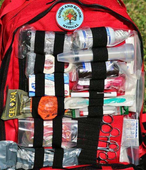 Ultimate Family Medical Bag Kit Doom and Bloom