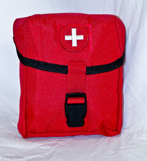Ultimate Compact First Aid Trauma Kit Bag with Tourniquet, Celox, Emergency Bandage