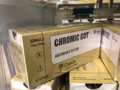 Chromic Gut 4-0 Suture