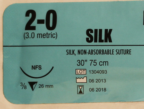 Dates not representative of current stock. The Silk Suture 2-0 you are purchasing is UNEXPIRED.