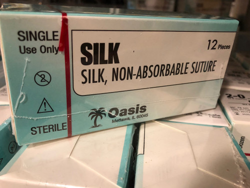 UNEXPIRED Silk Sutures, buy 10 get a full box of 12!