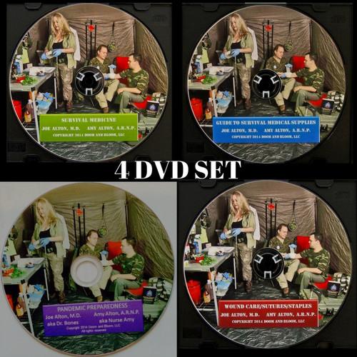Super DVD Educational 4 Set Package