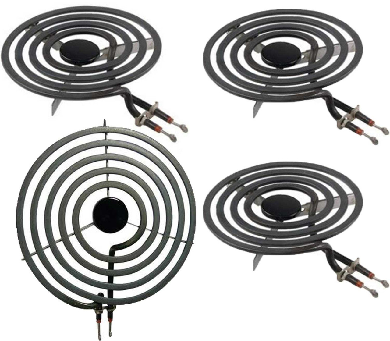 4 Pack MP22YA Electric Range Burner Element Unit Set 4- MP15YA 2 f... 2 MP21YA