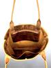 Classic Hunter Leather Tote Shopper Bag - Camel Tan