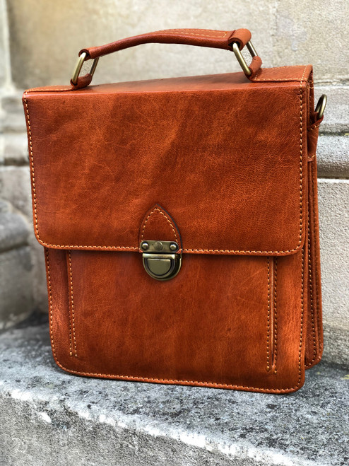 Sheepskin Leather Crossbody Bag