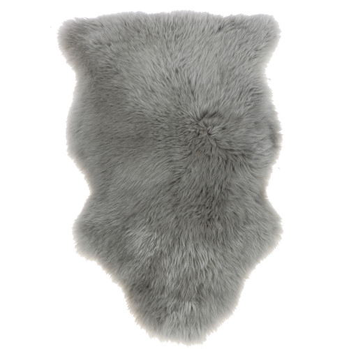 Australian Sheepskin Single Rug - Grey