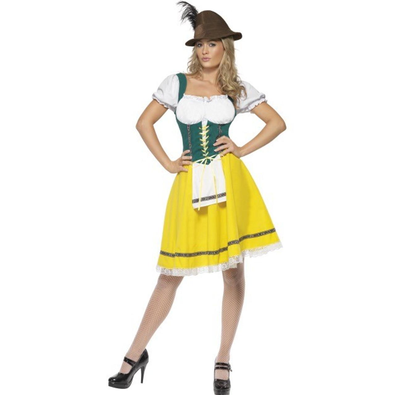 Smiffys Bavarian Wench Costume