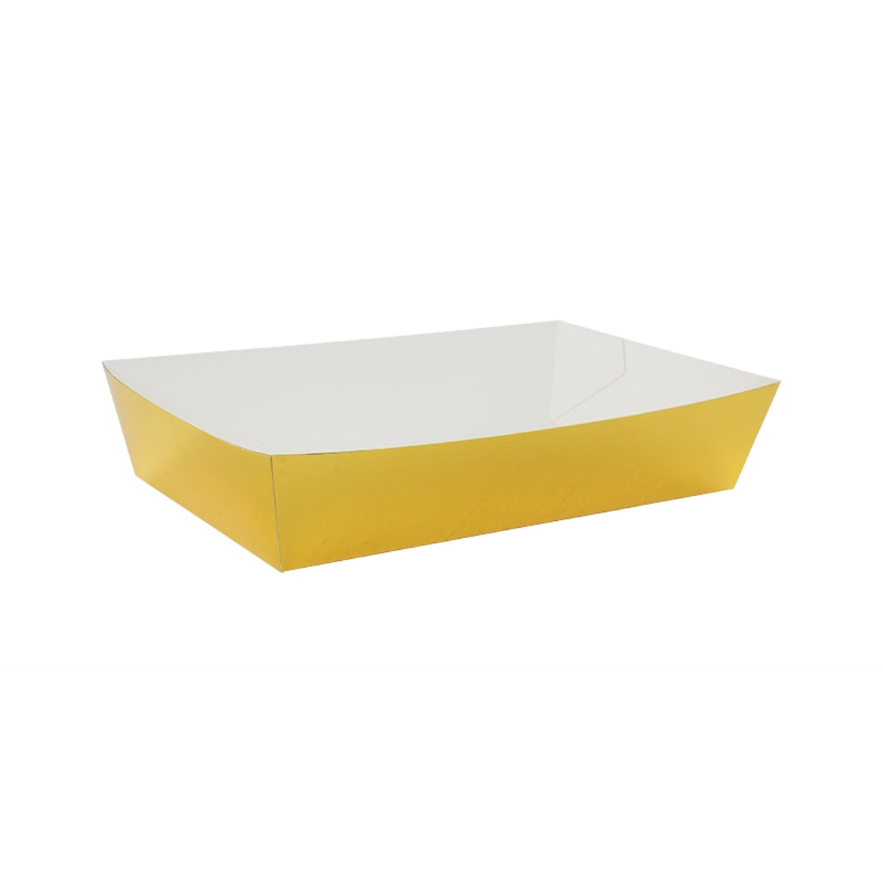 Lunch Trays Metallic Gold | The Paper Party Collection