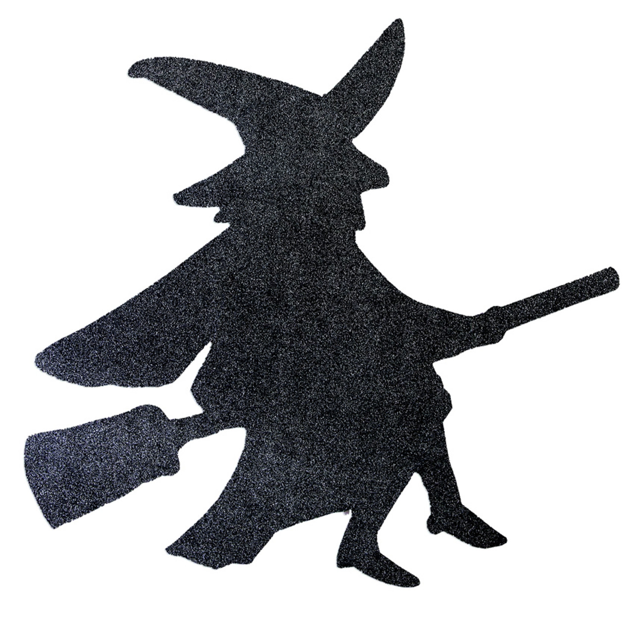 Halloween Black Witch Diamond Cutout
