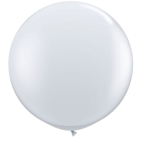 """Pack 2 LARGE 3ft LATEX ROUND JUMBO BALLOONS GIANT 3 foot BIG 36 inches 36/"""""""
