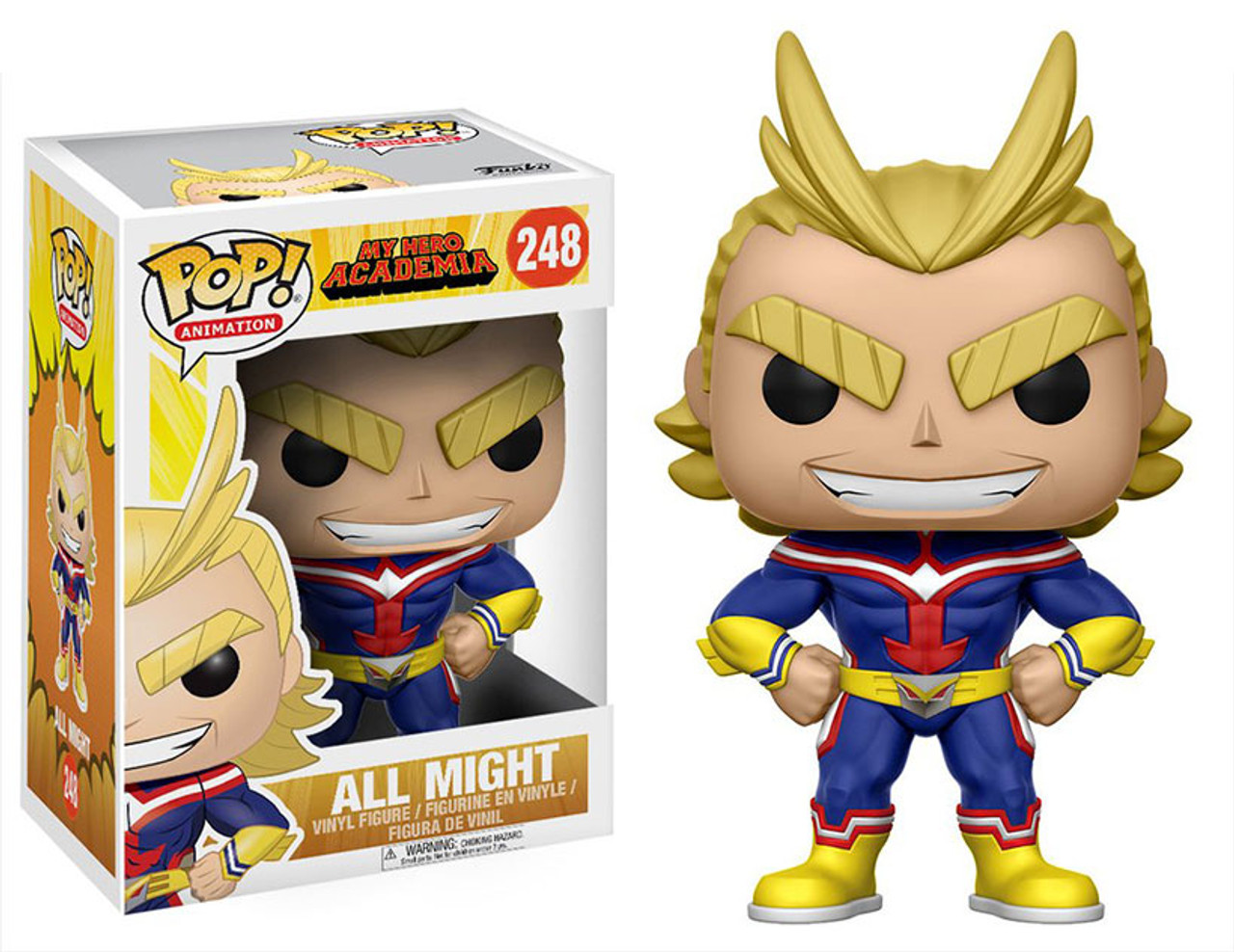 853f3413ccf ... Games · Collectible Toy Funko Animation My Hero Academia All Might Pop! Vinyl  Figure · 120082