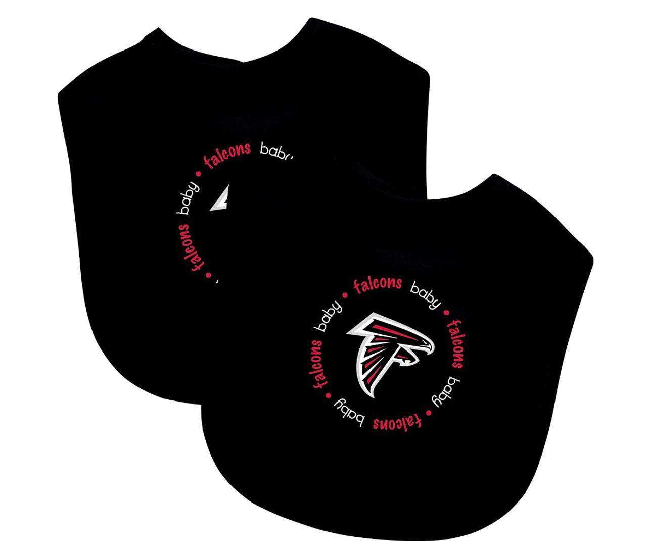 promo code 38421 c7f0a Toddler Sports Accessories Baby Fanatic Atlanta Falcons Feeding Bibs (2pc  Set)