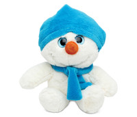 Super Soft Plush Blue Snowman