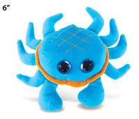 "Big Eye 6"" Plush - Blue Crab"