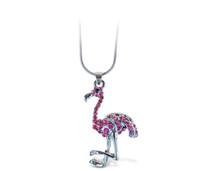 Sparkling Necklace Flamingo