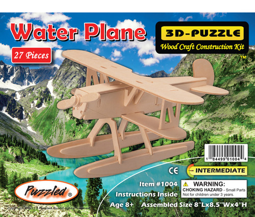 3D Puzzles Water Plane