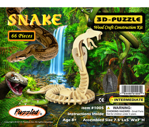 3D Puzzles Snake