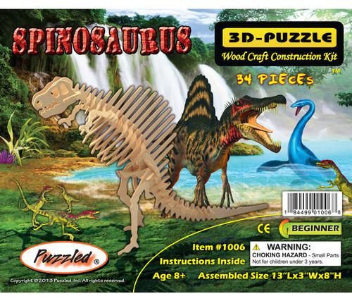 3D Puzzles Spinosaurus Dinosaurs