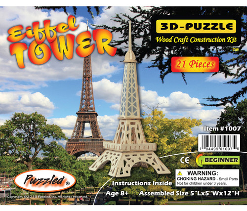 3D Puzzles - Eiffel Tower
