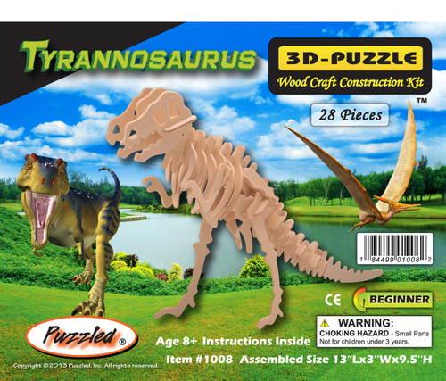 3D Puzzles Tyrannosaurus