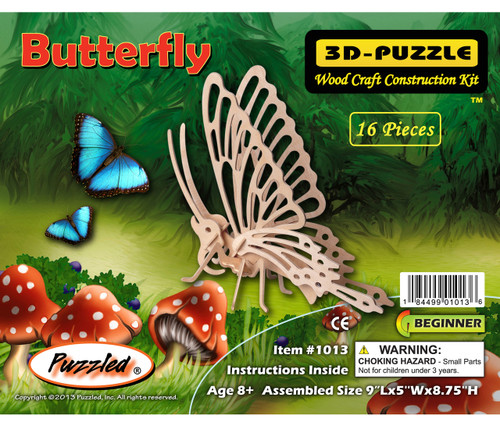 3D Puzzles Butterfly