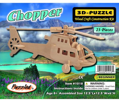 3D Puzzles Chopper