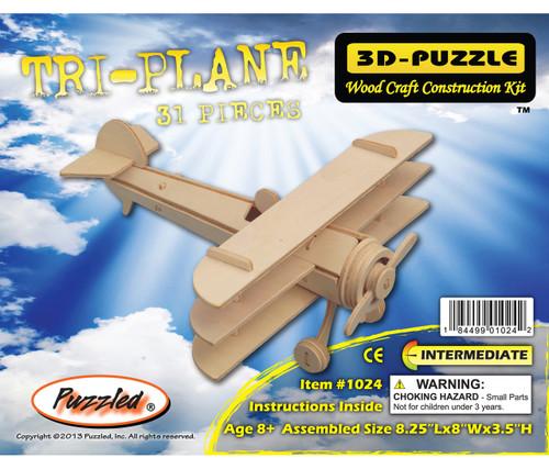 3D Puzzles Tri-Plane