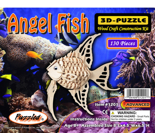 3D Puzzles Angel Fish