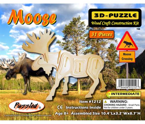 3D Puzzles Moose