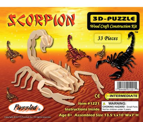 3D Puzzles Scorpion