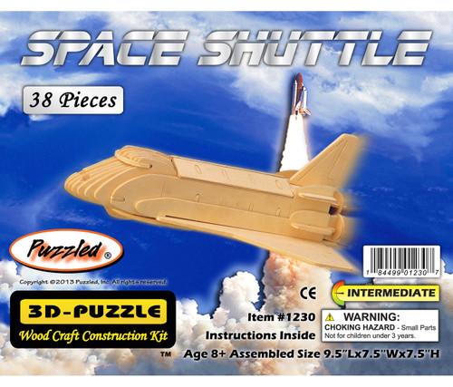 3D Puzzles Space Shuttle