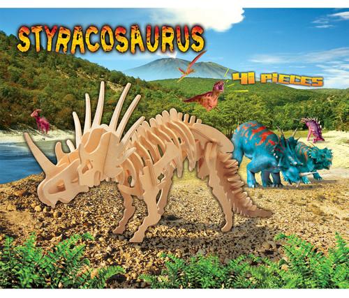 3D Puzzles Styracosaurus Dinosaurs