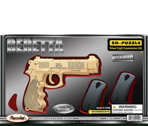 3D Puzzles Beretta