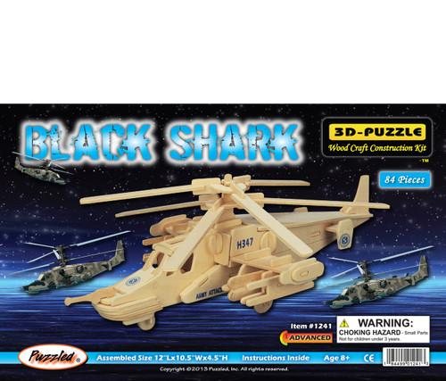 3D Puzzles Black Shark