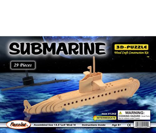 3D Puzzles Submarine