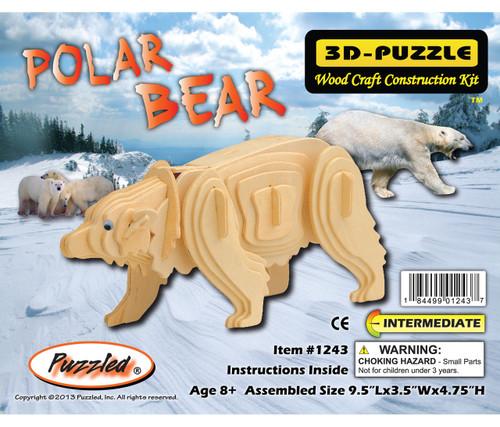 3D Puzzles Polar Bear