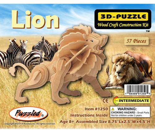 3D Puzzles Little Lion