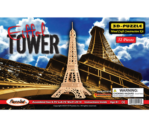 3D Puzzles Eiffel Tower Lr