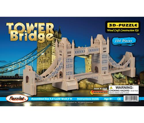 3D Puzzles Tower Bridge