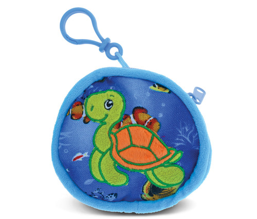 4 Inch Coin Bag Turtle