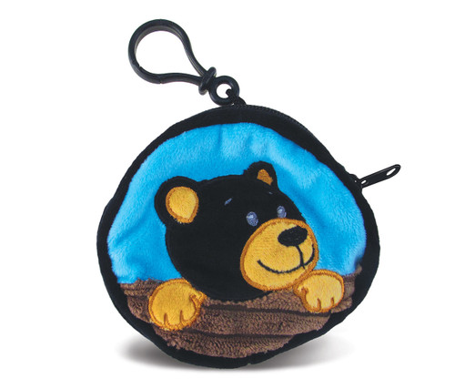 Coin Bag Black Bear