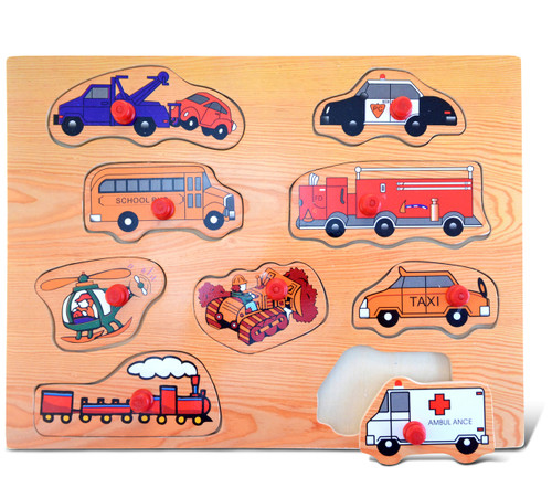 Peg Puzzle Large Transportation