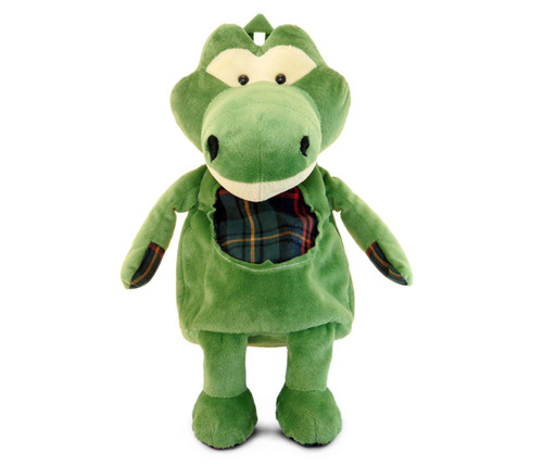 Stylish Plush Backpack Alligator