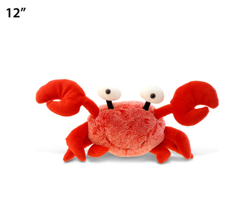 Super Soft Plush Red Crab 12 Inches